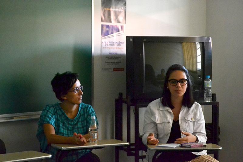 Josianne Santos e Viviane Balbuglio (Estrangeiras)