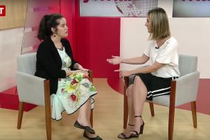 TVT entrevista integrante do Projeto Estrangeiras